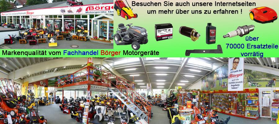 Börger Motorgeräte Garten und Forsttechnik Fachhandel