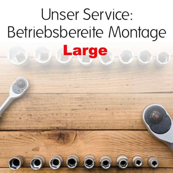 Betriebsbereite Montage - Large