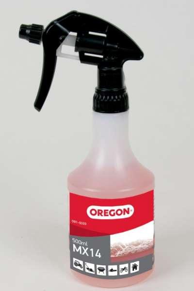 Oregon MX14 Motorsägenreiniger 500 ml Zerstäuber