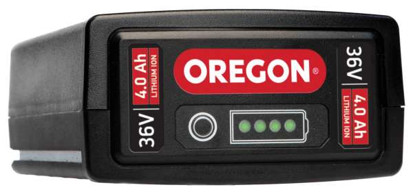 Oregon B600E Lithium Ionen Akku 36 Volt 4,0 Ah 144 Wh