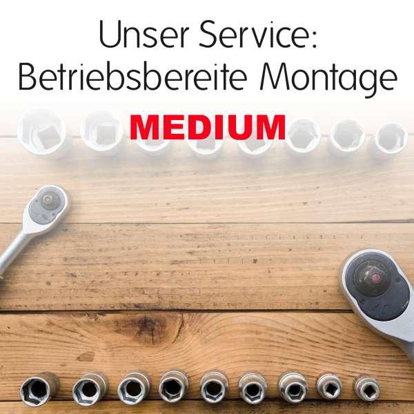 Betriebsbereite Montage - Medium
